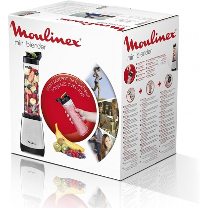 Moulinex Mini Blender 0.6L Bottle 300Watt