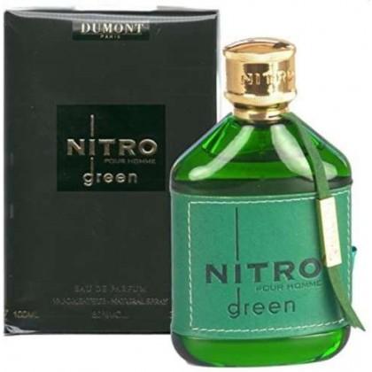 Dumont nitro green 100ml edp for men