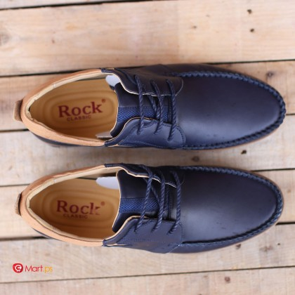 Hebron rock classic leather shoe