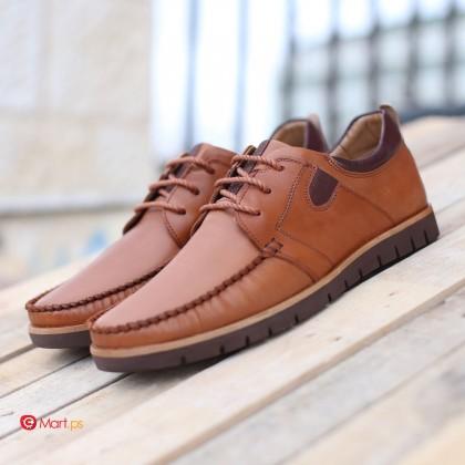 Hebron rock classic leather shoe