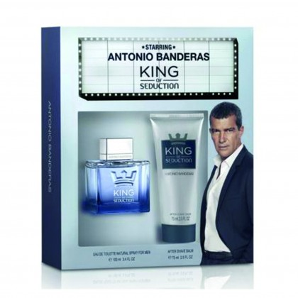 Antonio banderas king of seduction edt 100ml set for men
