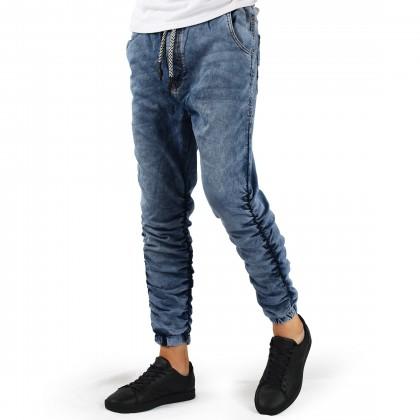 بنطلون جينز شبابي زمبرك noshark تركي