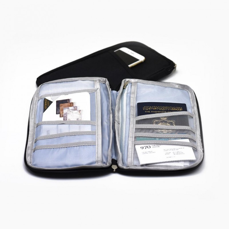 محفظة أوراق سفر حجم 25*15سم