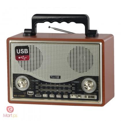 Bluetooth speaker radio shape