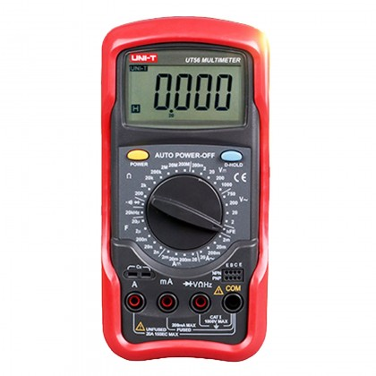 ساعة قياس كهرباء uni t51
