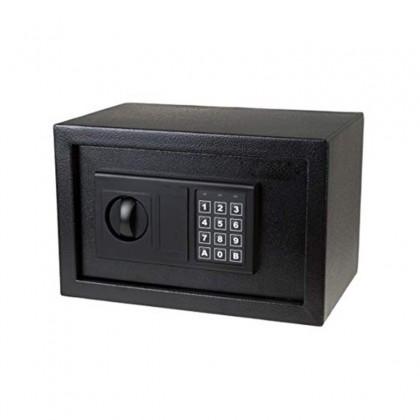 خزنة معدنية مع رقم سري ومفتاح مقاس 203030 سم