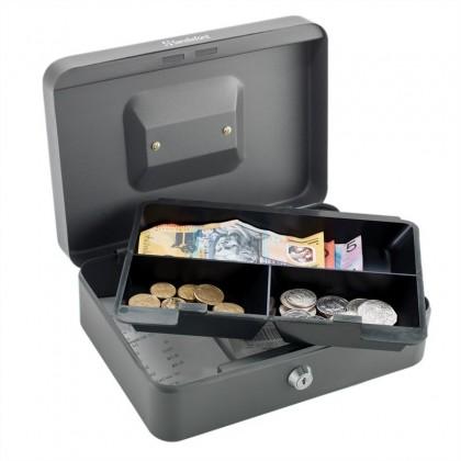 صندوق عملة معدني مع مفتاح حجم xlarge قياس 233085 سم