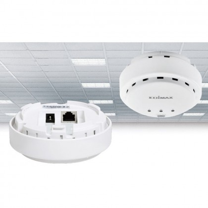 N300 high power ceiling mount wireless poe range extender or access point