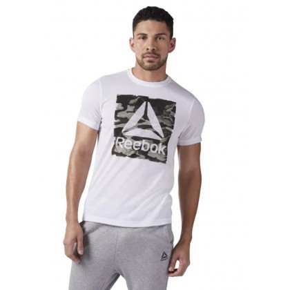 Reebok camo logo tee shirt