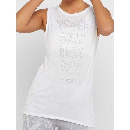 Reebok training supply graphic muscle tank top