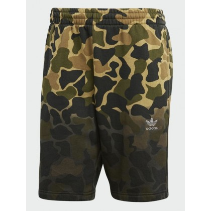 Adidas trefoil sweatshorts ombre camouflage