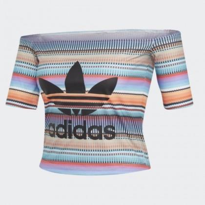 Adidas off shoulder top