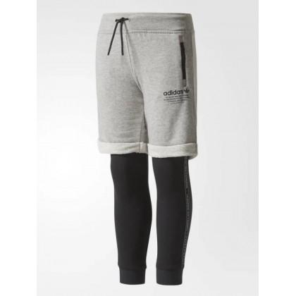 Adidas shorts and tights set