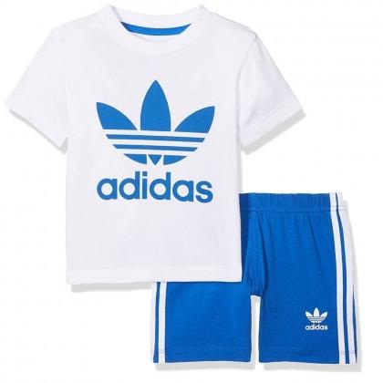 Adidas shorts and tee set