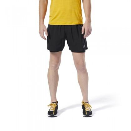 Reebok run essentials two in one shorts