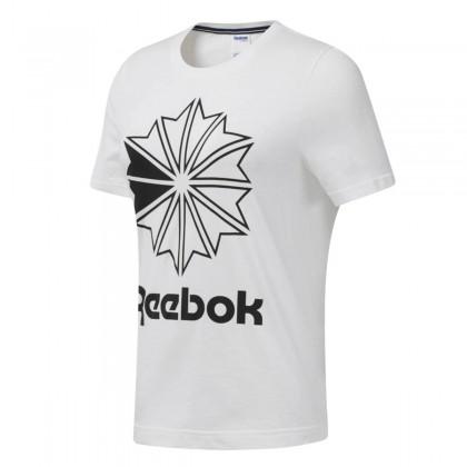 Reebok classics big logo graphic tee