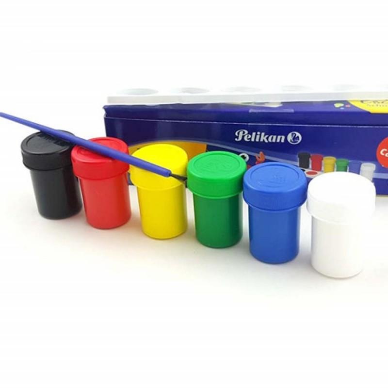 ألوان مائية 6 علب مع ريشة Mart Online Shop