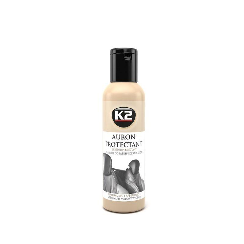 AURON طقم تنظيف وحماية كراسي الجلد k2 g420