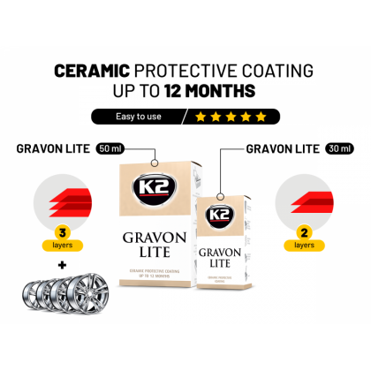 Gravon lite كريم نانو 50 مل حماية ل 12 شهر g033 k2