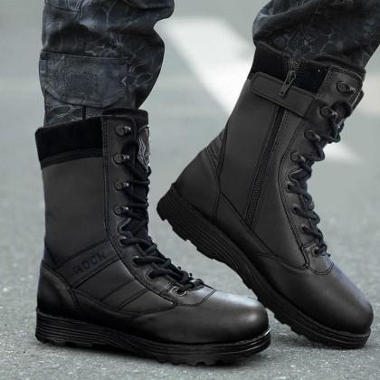 Rock 888 military zip boot