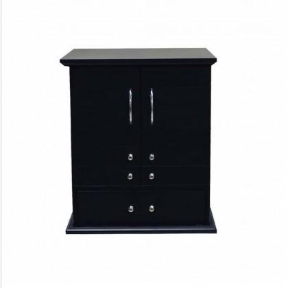 صندوق مجوهرات خشب أسود
