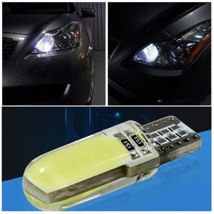 مصباح سيارة T10 لون أبيض