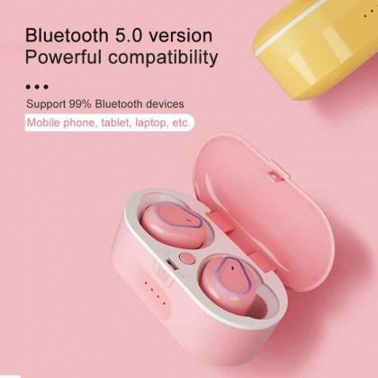 TOUCH Wireless Earphone Model 208 ( DUAL قطعتين )