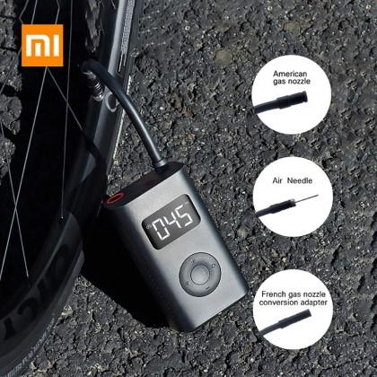 منفاخ الكتروني للسيارة او الدراجة او الكرات متنقل قابل للشحن من شاومي