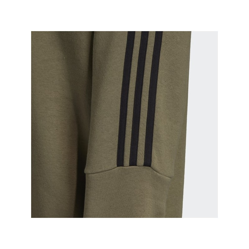 Adidas 3 Stripes Crew Sweatshirt‏