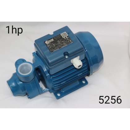 مضخة ماء 1 hp فاز 1 فراش صغير pentax
