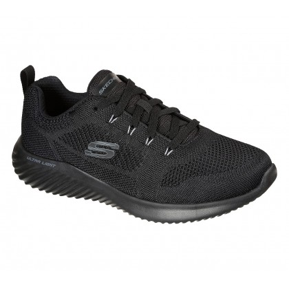 Skechers engineered knit lace up sneaker air cooled me